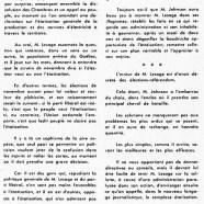 «Une grave erreur de M. Jean Lesage: des élections-référendum»