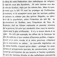 «Les bills 19 et 20 et la marche sur Québec»