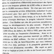 «Le progrès dans la province et à Saint-Hyacinthe»