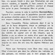 «L'honorable Maurice Duplessis, l'étatisation et l'étatisme»