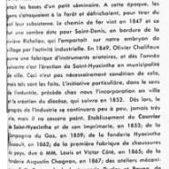 «Ce que doit Saint-Hyacinthe à ses pionniers industriels»