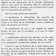 «L'honorable Maurice Duplessis fut à Ottawa la figure dominante»
