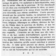 «Le bill de Saint-Hyacinthe et la mesquinerie de M. Marler»