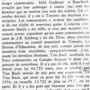 «Le communisme à Toronto»