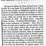 «À l'Académie Girouard»