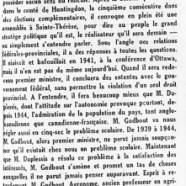 «De nouvelles prédictions de M. Adélard Godbout»