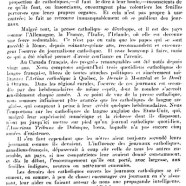 «La presse catholique»