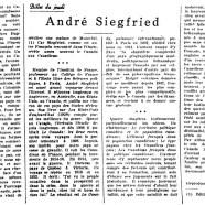 «André Siegfried»