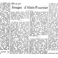 «Images d'Alain-Fournier»