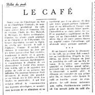 «Le café»