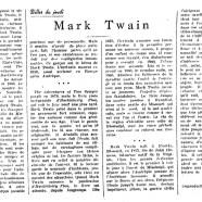 «Mark Twain»