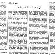 «Tchaikovsky»