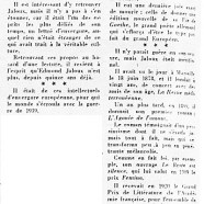 «Edmond Jaloux, esprit européen»
