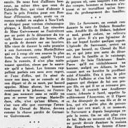 «Le nouveau roman de Germaine Guèvremont»
