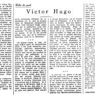 «Victor Hugo»
