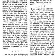 «Le parfait lettré que fut Émile Henriot»