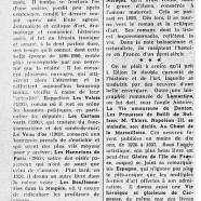 «Georges Lecomte, secrétaire perpétuel de l'Académie»