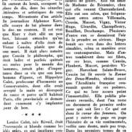 «La belle Louise Colet, Junon du boulevard»