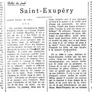 «Saint-Exupéry»