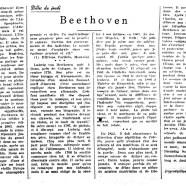 «Beethoven»