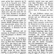«Quelques humoristes du Canada-Français»