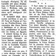 «Comment le bon Père Frédéric et le saint Frère Didace Pelletier appartiennent aux Trois-Rivières»