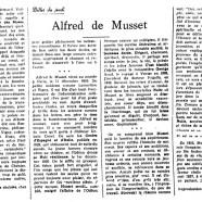«Alfred de Musset»