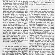 «La vie héroïque de Marguerite Bourgeoys»