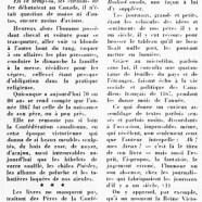 «Des hommes et des choses d'avant l'an 1867»