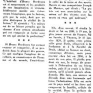 «Henry Bordeaux meurt à 93 ans»