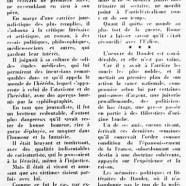 «Déjà le centenaire de Léon Daudet»