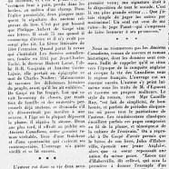 «L'idée d'un musée de Gaspé à Saint-Jean-Port-Joli»