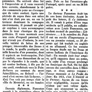 «Mort subite du Dr Philippe Panneton»