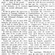 Jacques Offenbach aux États-Unis et au Canada»