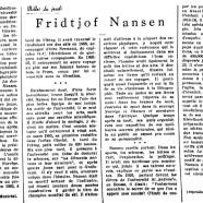 «Fridtjof Nansen»