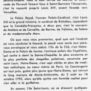 «Vue d'ensemble de Paris»