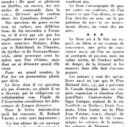 «Les divers aspects du Canada-Français»