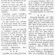 «De Jacques Largillier, coureur des bois et frère donné»