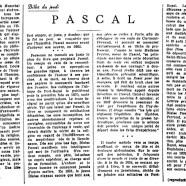 «Pascal»