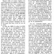 «La conflagration de l'an de grâce 1876»