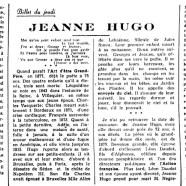 «Jeanne Hugo»