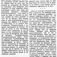 «La destinée tragique de Charles d'Autriche»