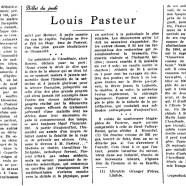 «Louis Pasteur»