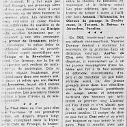 «Maurice Donnay, une époque de l'esprit parisien»