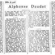 «Alphonse Daudet»