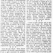 «Un homme d'esprit d'autrefois : Henri Monnier»