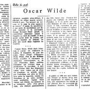 «Oscar Wilde»