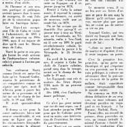 «Le grand poète José Marti, premier libérateur de Cuba»