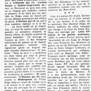«De Louis XV, Victor Hugo et Barbey d'Aurevilly»