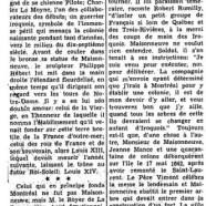 «Monsieur de Maisonneuve, fondateur de Montréal»